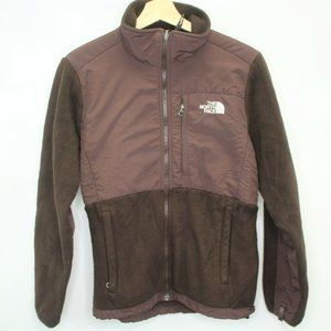 The North Face Denali Brown Full Zip Jacket D427